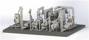 Fixed Grain Processing/Cleaning Plant